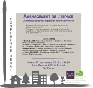 urbanisme Invitation 17 septembre 2013