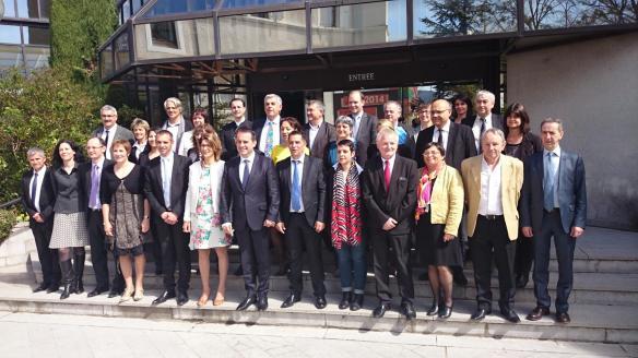 Photo de l'assemblée départementale